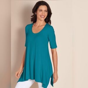 Soft Surroundings Timely Jersey Tunic